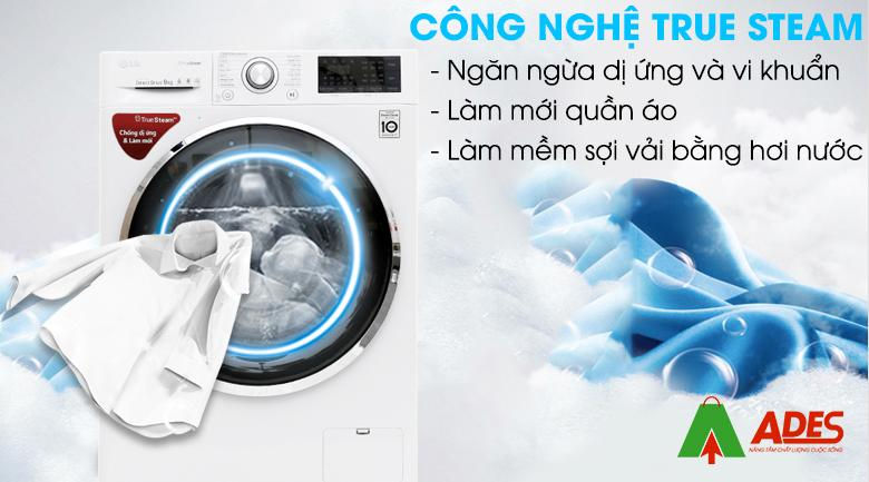 Cong nghe giat hoi nuoc True Steam