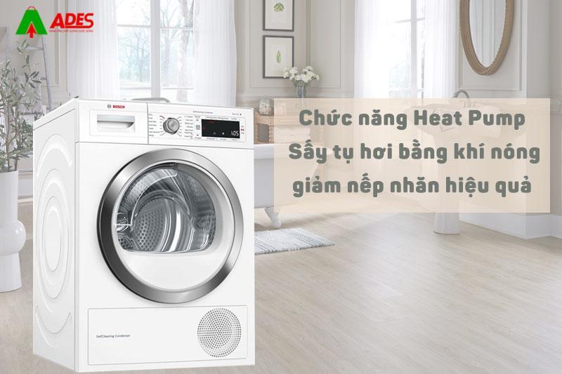 Chuc nang Heat Pump - Say tu hoi bang khi nong