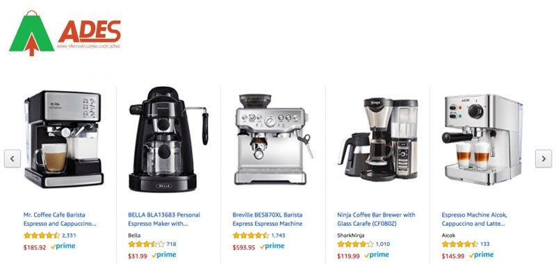 Espresso Machinetim duoc tu Amazon