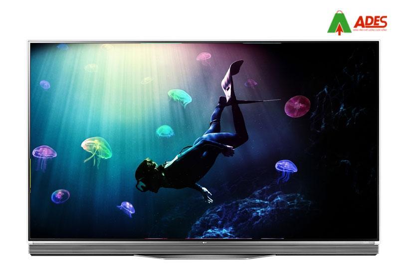 Hinh anh thuc te Smart Tivi OLED LG 65E6T, 4K, HDR